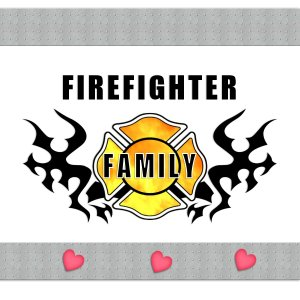 Firefighter Family T-Shirts and Gifts of Love - Click To Learn More